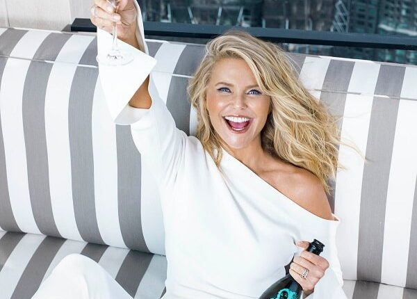 Christie-Brinkley-with-BeVeg-Certified-Bellissima-Prosecco