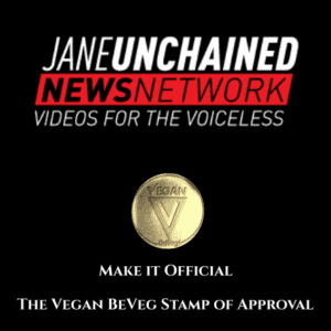 Jane-Unchained-Make-it-official-Vegan-BeVeg-Stamp-of-approval-300x300