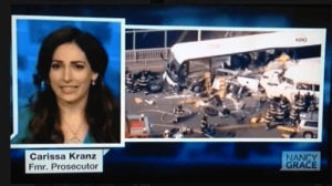 Palm Beach County Personal Injury Lawyer Carissa Kranz covering a car accident
