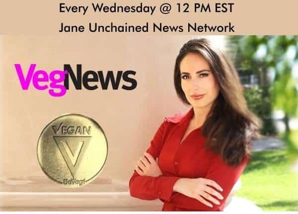 VegNews features Laws That Matter Live show