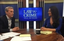 Dan Abrams with Carissa Kranz on AE Law and Crime Network